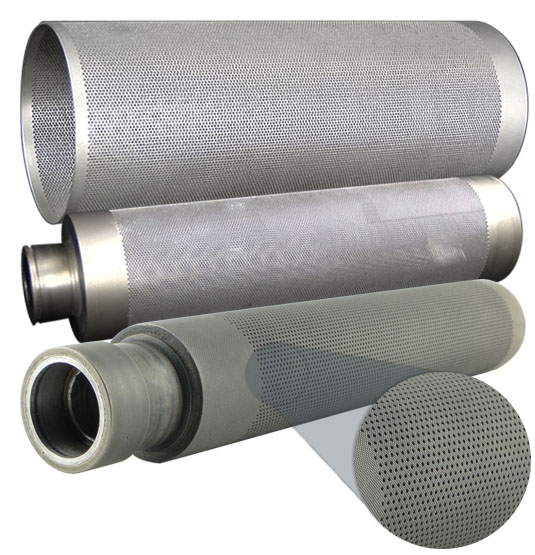 DREF Friction Spinning System - Perforated Cylinders
